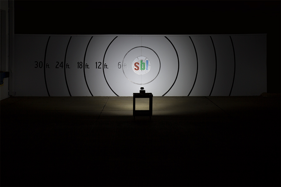 4-inch LED work light output