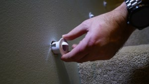 Motion Sensor LED Stair Lights   Installing Light