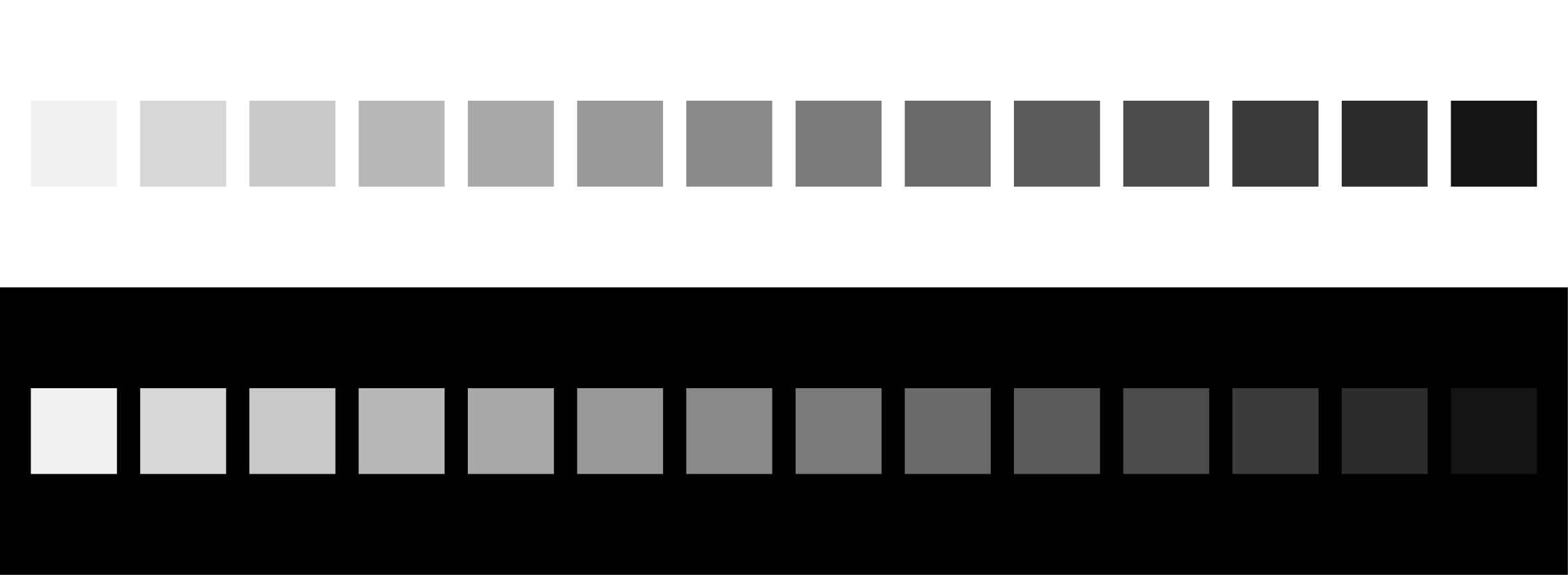 bias lighting contrast