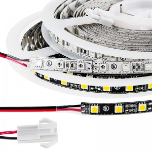 bias lighting led strip light - cool white with connector