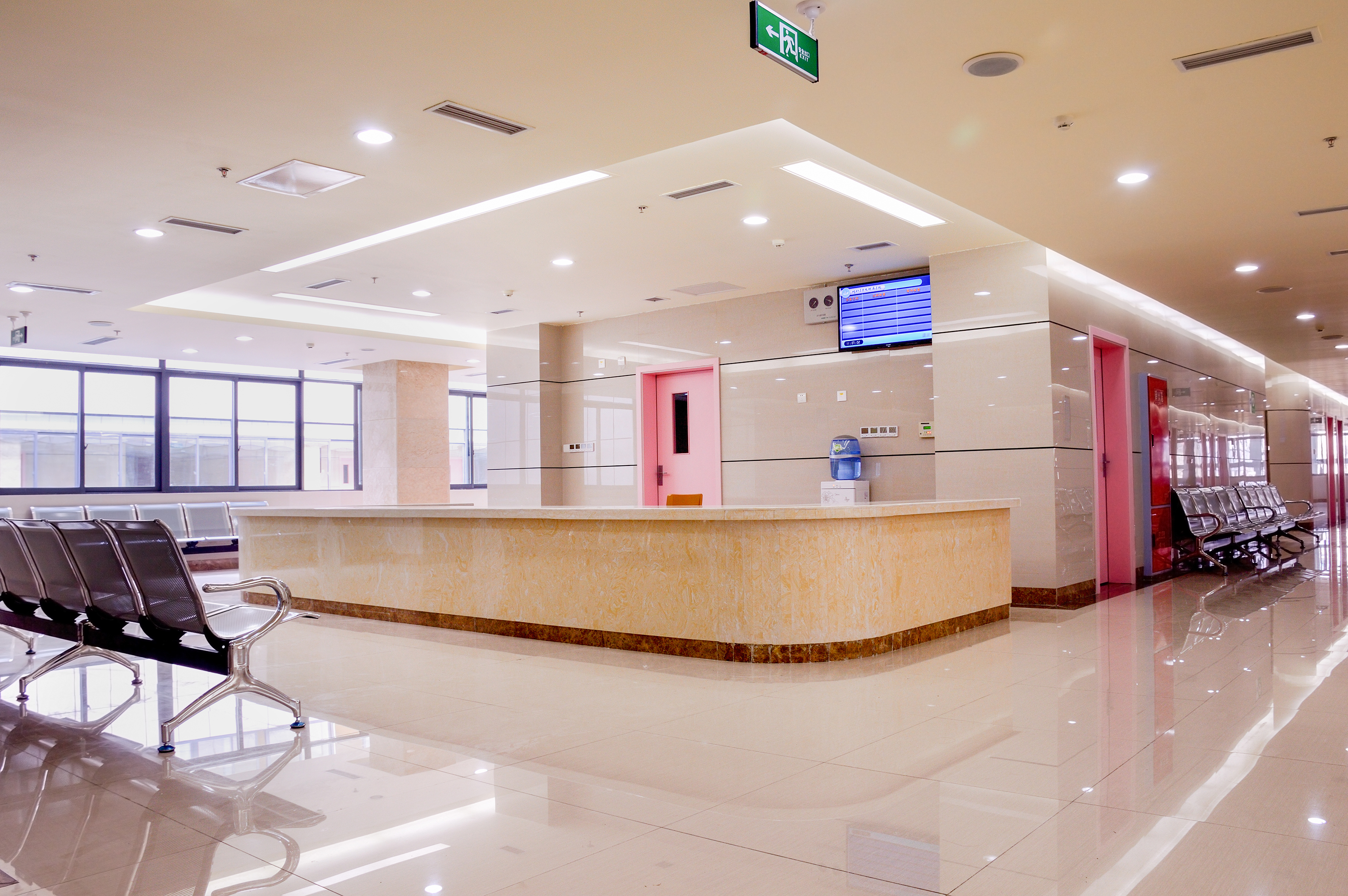 LED hospital lighting - nurse station