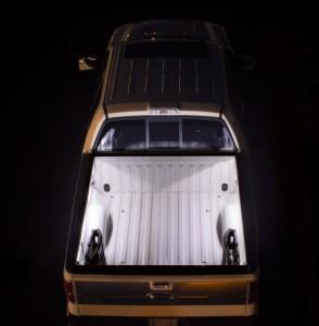portable LED strip lights - white truck bed lights