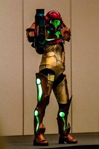 portable LED strip lights - costume lights green