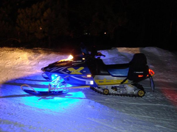 portable LED strip lights - snowmobile lights