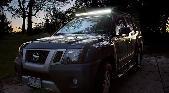 How To Install A Light Bar   Led Light Bar On Suv Great Pictures
