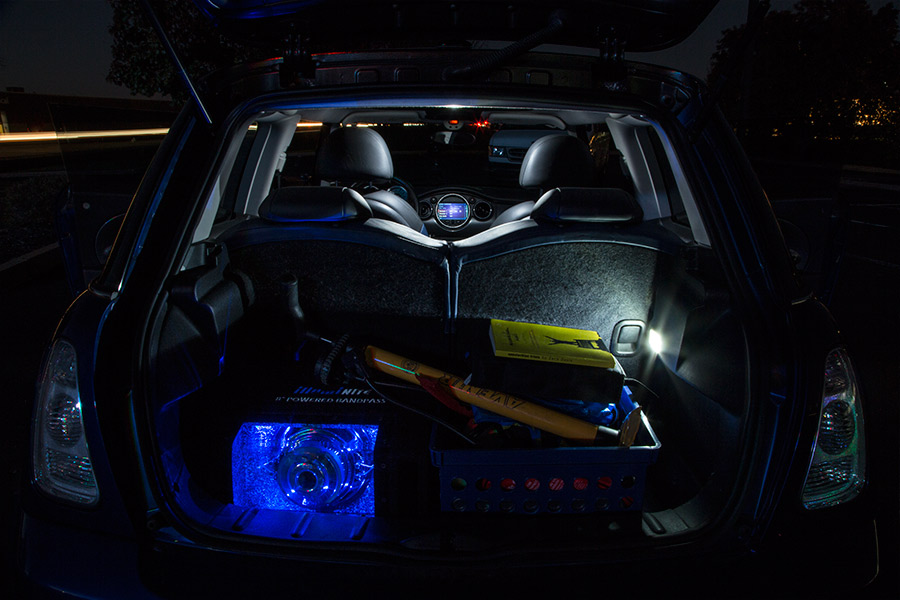 CAN Bus LED festoon bulbs - trunk lights