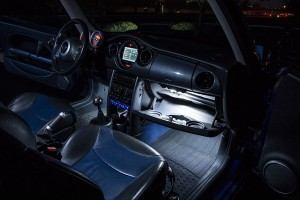 father's day gifts - LED car bulbs - glove box - footwell