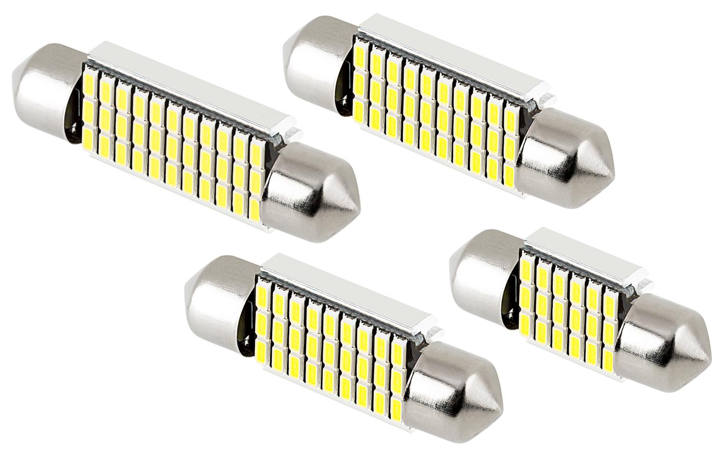 CAN Bus LED festoon bulbs - sizes