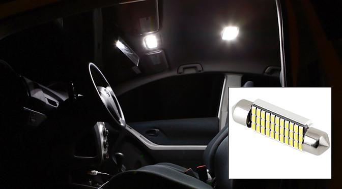 CAN Bus LED festoon bulbs - map lights