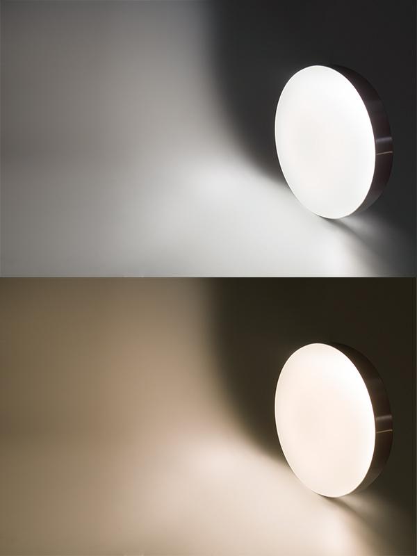 flush mount led ceiling light - low profile - color temperatures