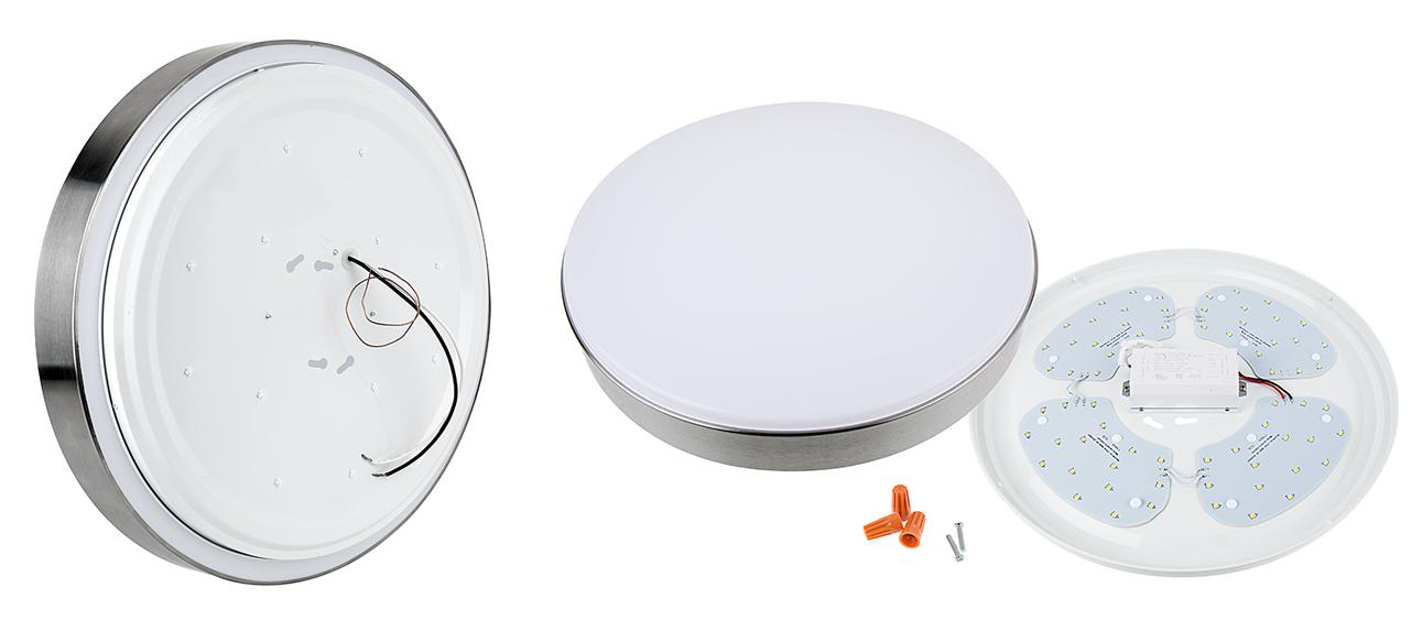 flush mount led ceiling light - low profile - inside