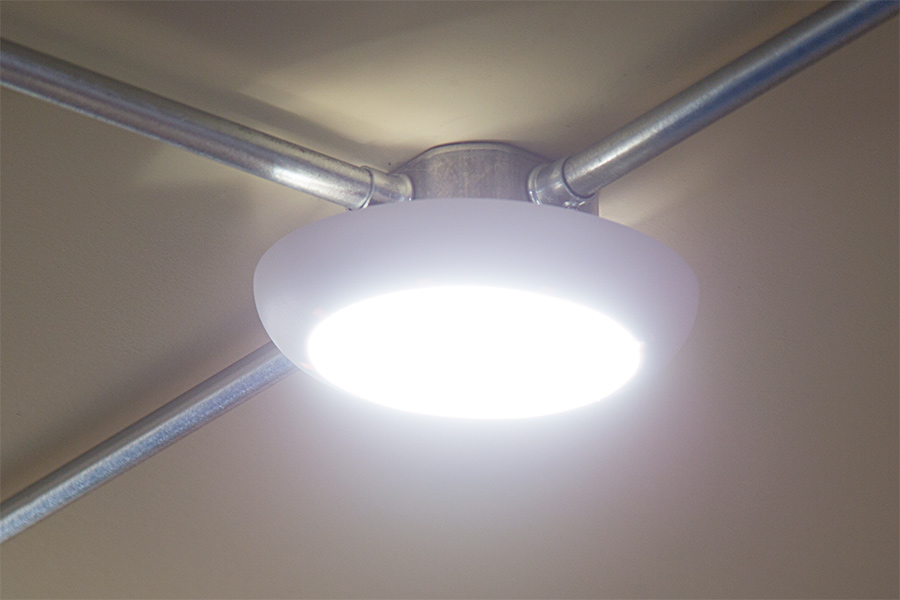 Flush Mount Led Ceiling Lights For J Boxes And Can Lights