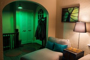 father's day gifts - LED wifi lights in foyer
