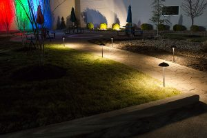 father's day gifts - LED path lights - mushroom style