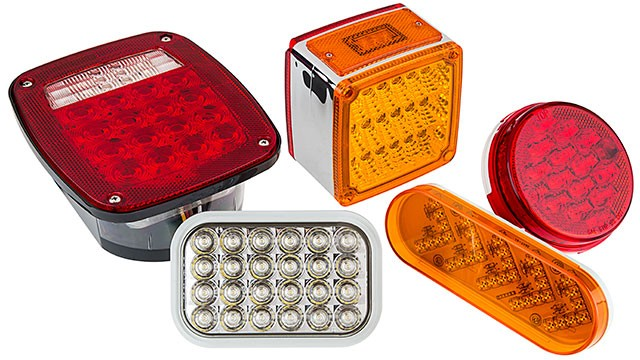 commercial LED truck lights - LED Tail Lights Brake Lights Turn Lights