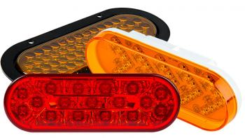 commercial LED truck lights - oval LED tail lights