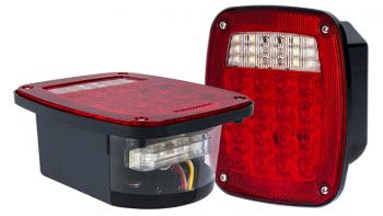 commercial LED truck lights - LED combo box light