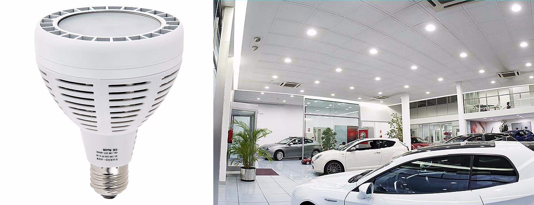 led retail lighting - par bulbs for can lights