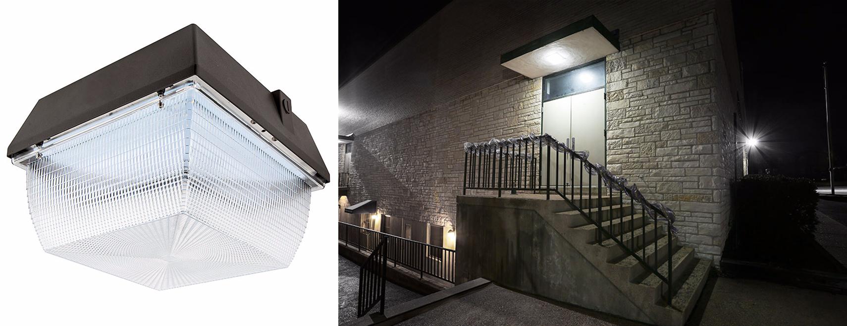 LED retail lighting - LED canopy lights