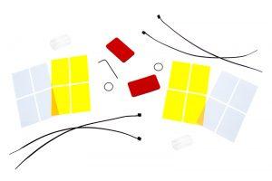 led headlight bulbs - adjustable color temperature - kit contents