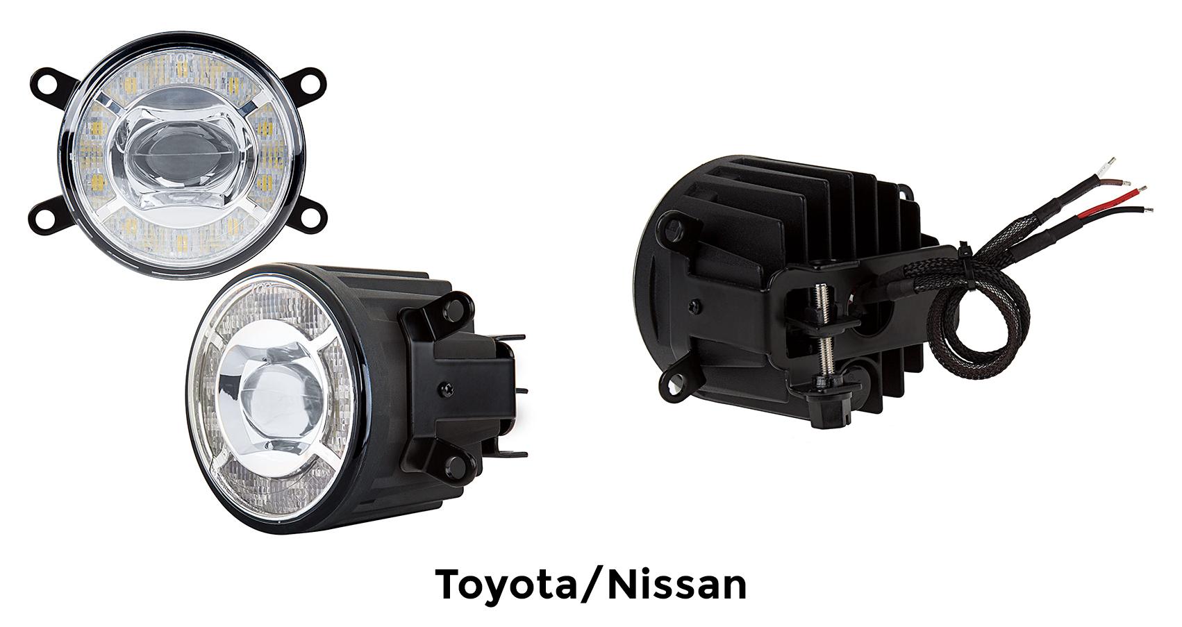 projector LED fog lights - toyota - nissan