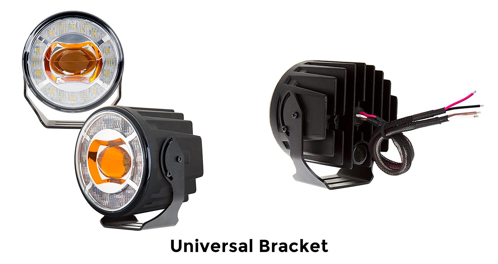 projector LED fog lights - universal