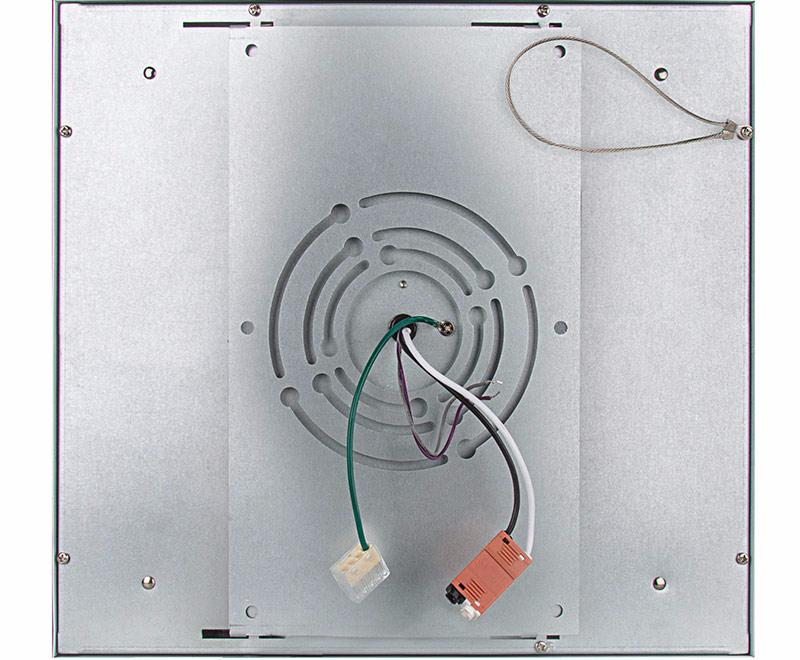 flush-mount led panel light bracket - 1x1
