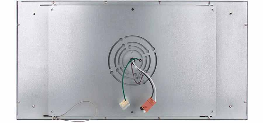 flush-mount led panel light bracket - 1x2