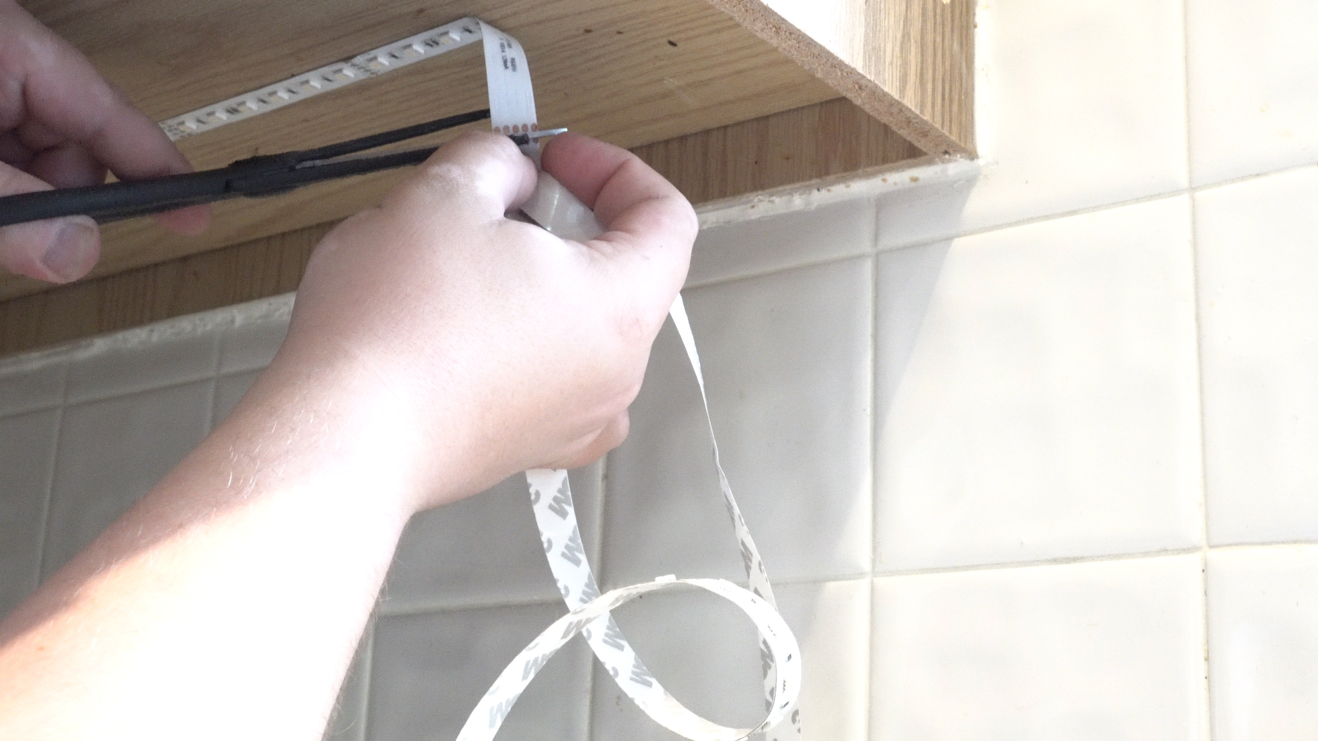 Above-Cabinet and Under-Cabinet LED Lighting: How to Install LED Strip Lights - step 21
