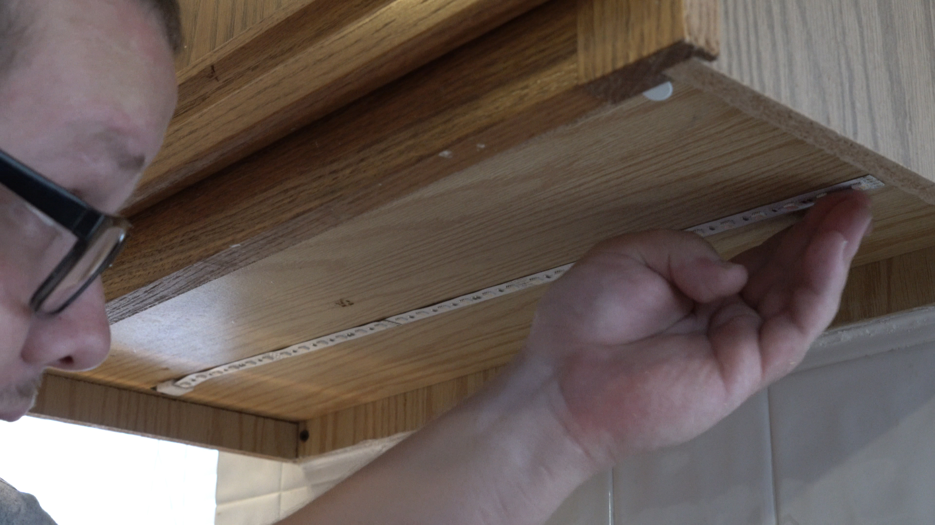 Above-Cabinet and Under-Cabinet LED Lighting: How to Install LED Strip Lights - step 30