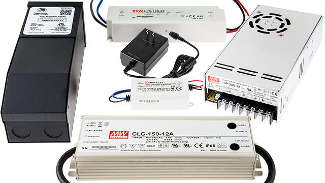 LED strip lights - power supplies for LED strip lighting
