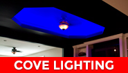 LED strip lights - cove LED strip lighting