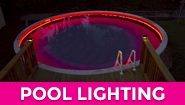 LED strip lights - pool LED strip lighting