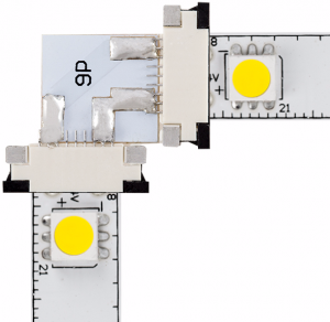 LED strip lights - 90 degree corner connector