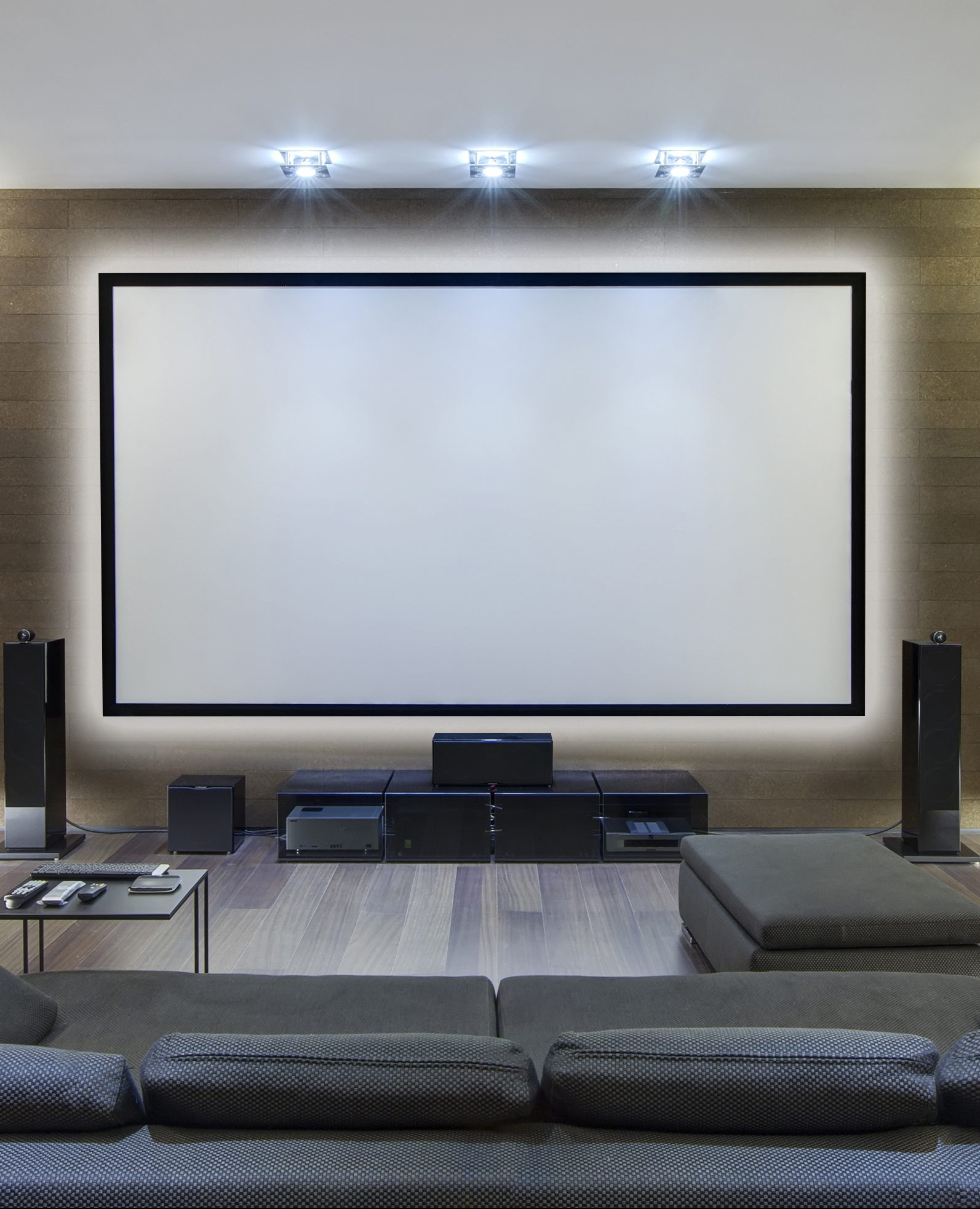 Home Theater Lighting Ideas Tips: Home Theater Lighting Done Right