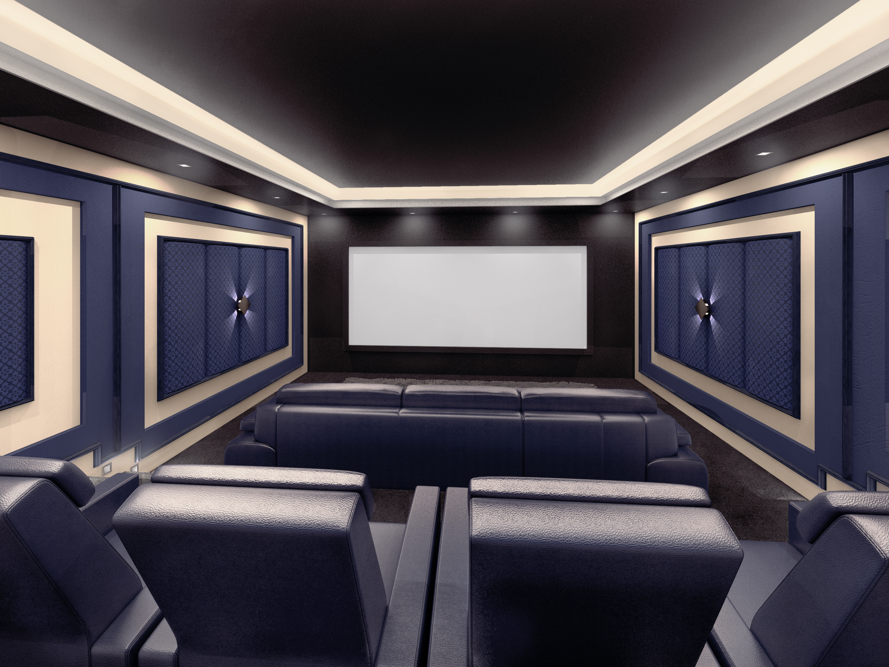 LED Cove Lighting Allows You To Add Home Theater Lighting Without Creating  A Glare Or Shining Onto Your Screen. This Type Of Lighting Can Be Added  Behind ...