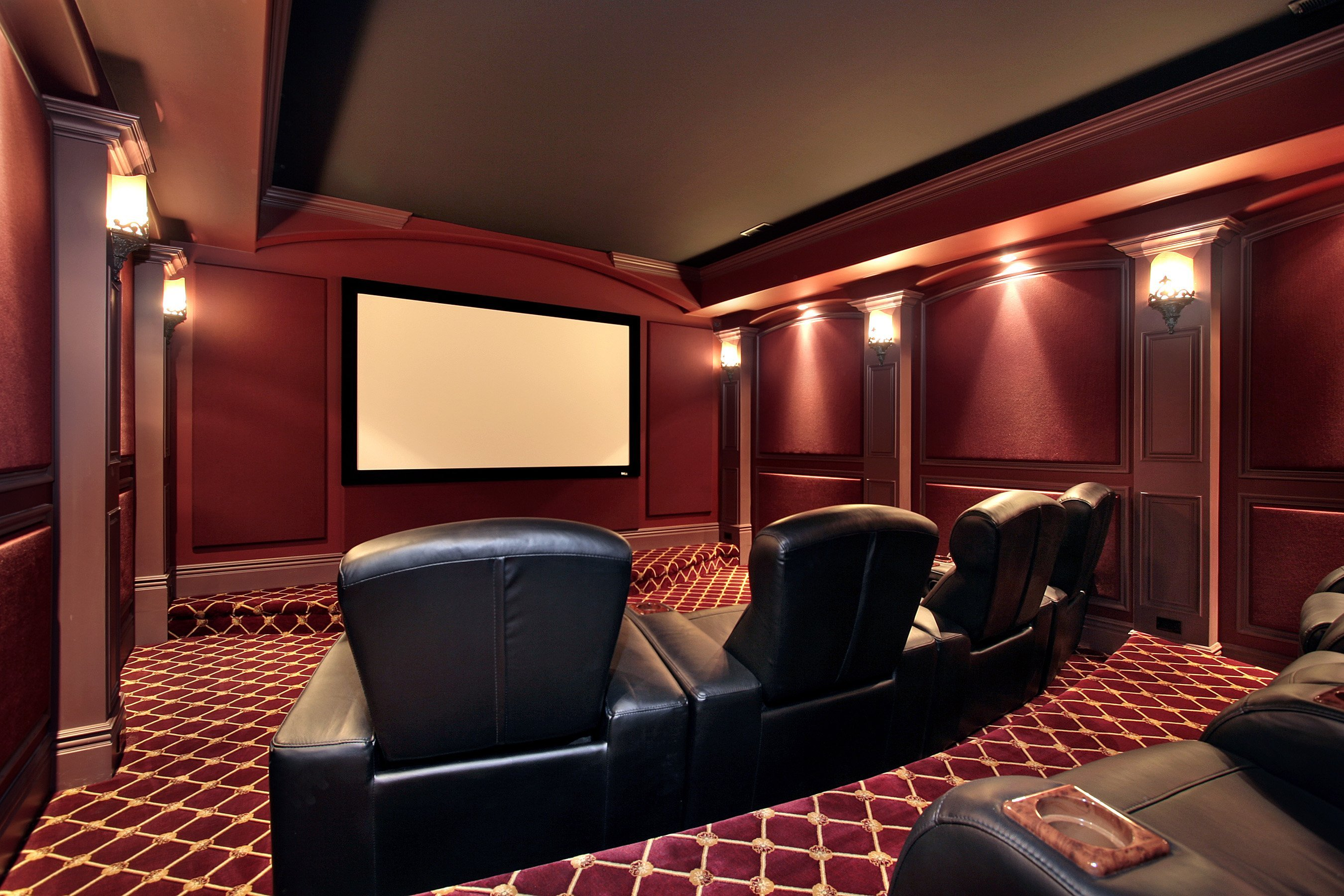 home theater height theatre cinema from size stairwell of large sconce recessed lights light floor lighting sconces wall
