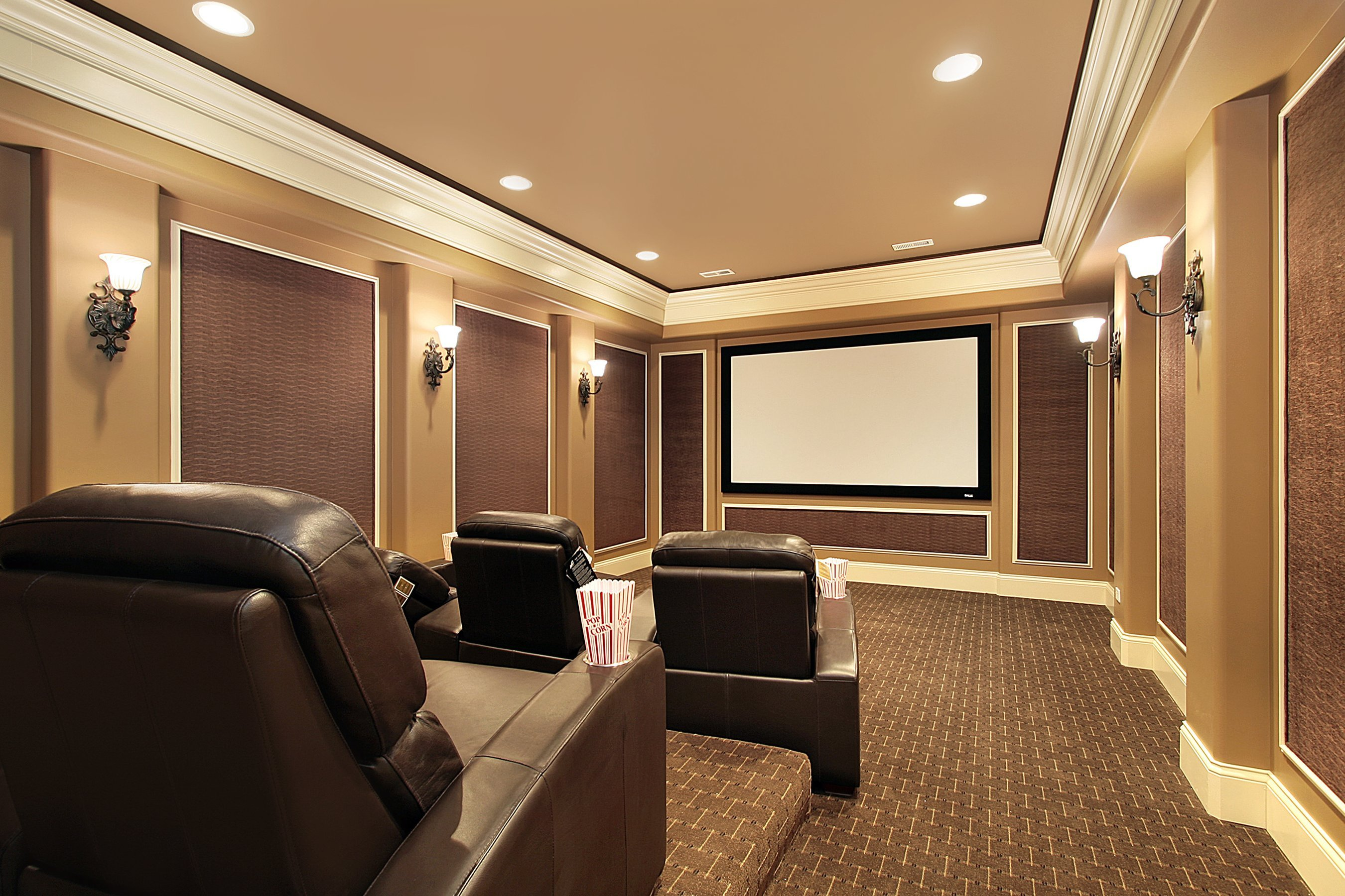 home theater lighting done right super bright leds. Black Bedroom Furniture Sets. Home Design Ideas