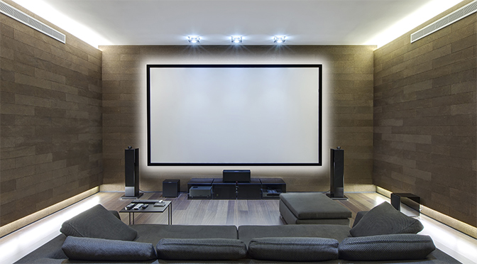 Home Theater Lighting Done Right Super Bright Leds