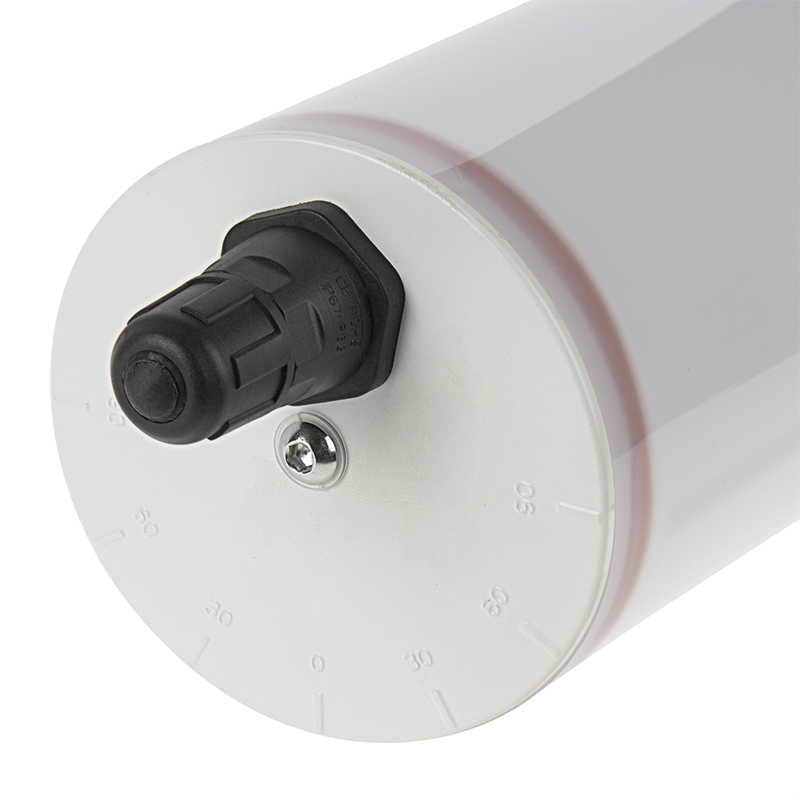 cylindrical led vapor-proof lights - aimable adjustable degrees