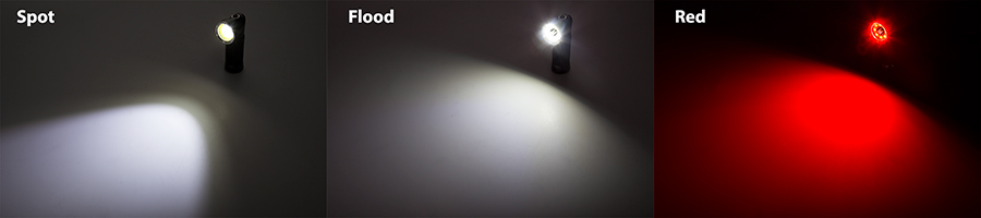 led hunting lights - LED flashlight beams