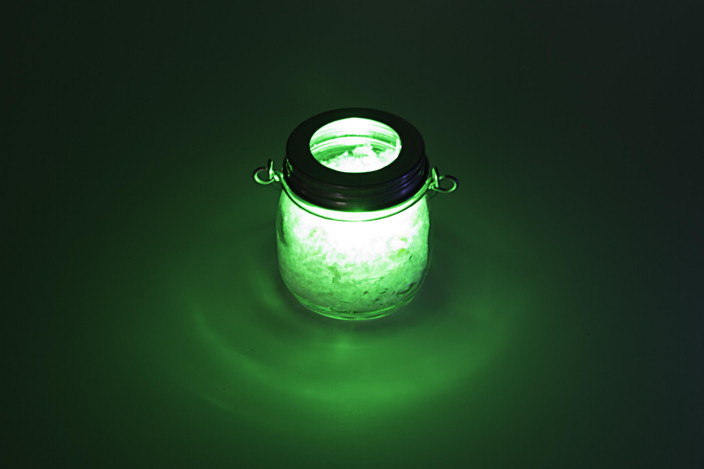 Christmas crafts - decorative LED christmas lantern with LED tea light