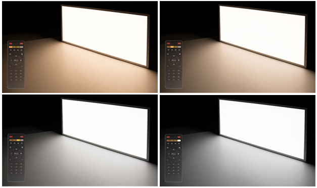 tunable white led panel lights - color temperatures