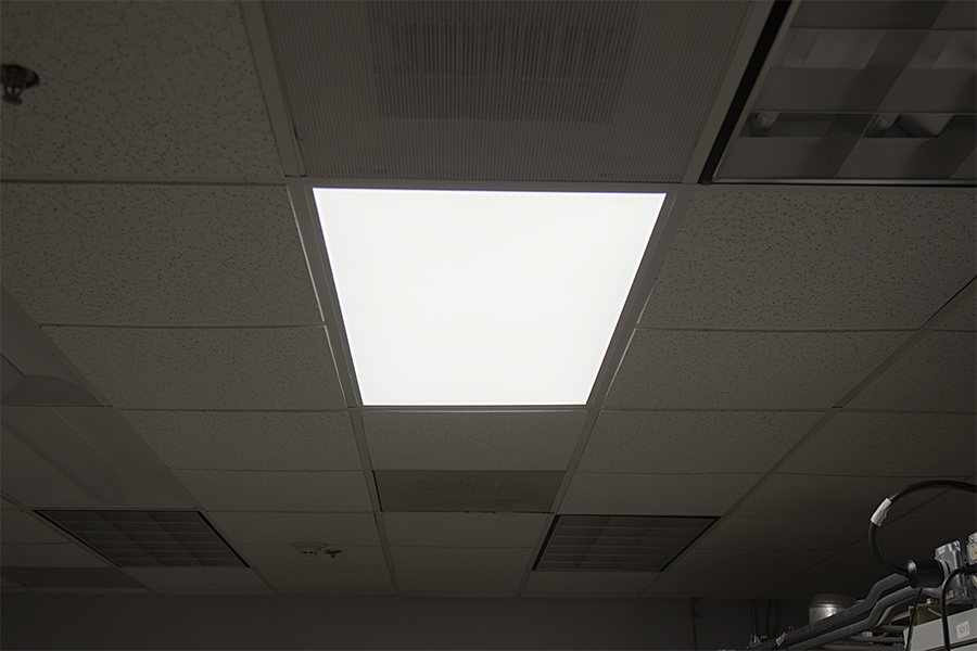 tunable white led panel lights - in drop ceiling