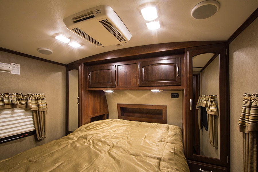 Rv Led Lights And Camper Ceiling With 12v Bulbs