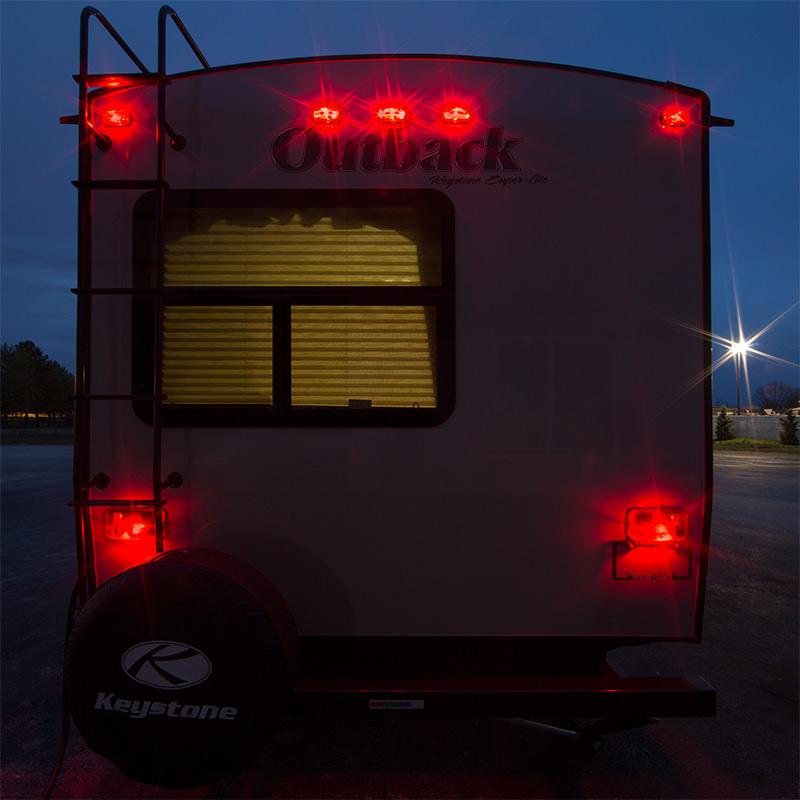 rv led lights and led camper lights - exterior rv lights with 12v led bulbs