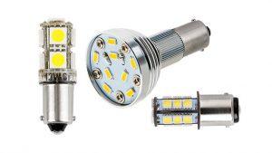 rv led lights and led camper lights - bayonet led bulbs