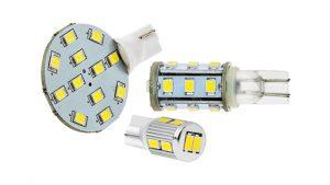 rv led lights and led camper lights - led wedge bulbs