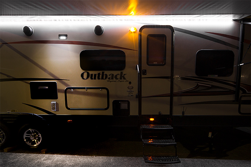 rv led lights and led camper lights - rv porch light/awning light
