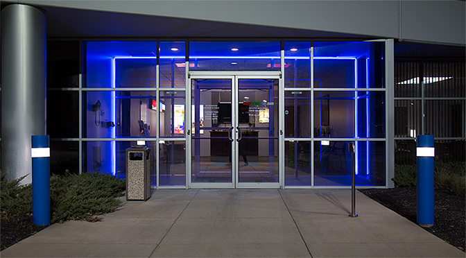 Flexible led neon rope lights a long lasting shatterproof led neon strip lights storefront lighting aloadofball Images